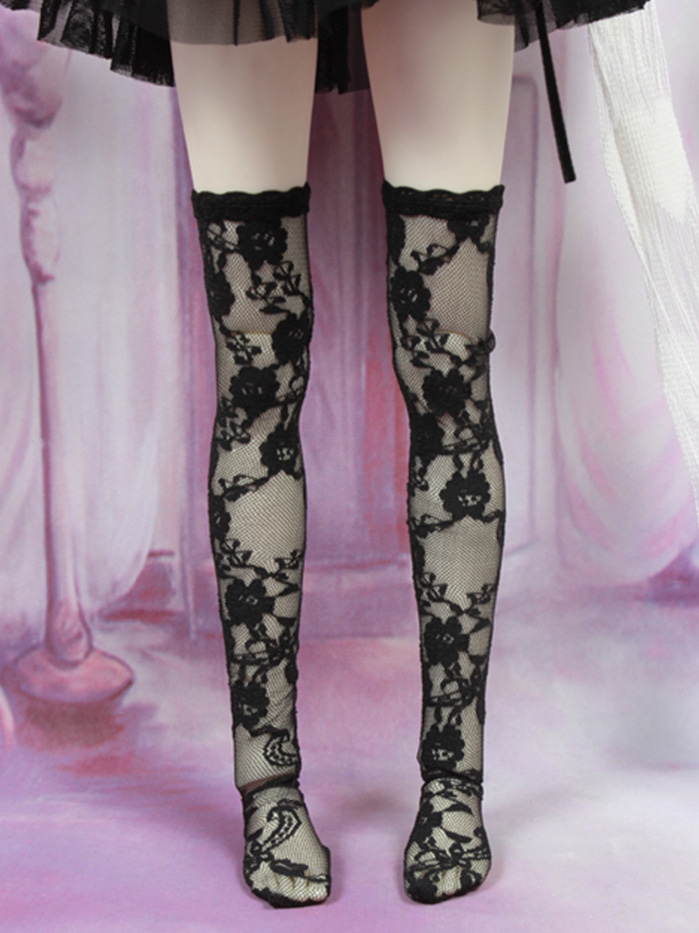 [SD,MSD,YOSD]Rose stocking(Black)
